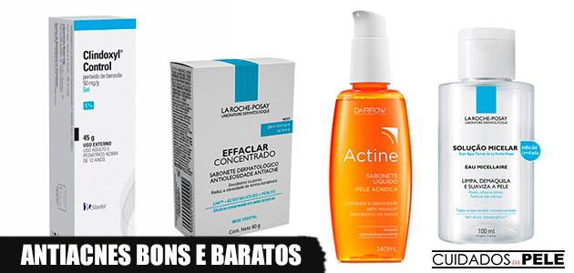 melhores produtos antiacne